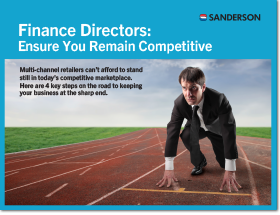 Finance directors ensure you remain competitive