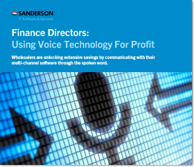 finance directors using voice technology for profit wholesalers