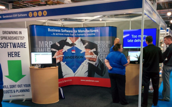 Sanderson at Northern Manufacturing & Electronics 2014, Manchester resized 600