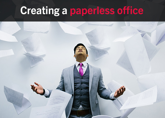 Creating a paperless office 3 tasks you dont need paper for