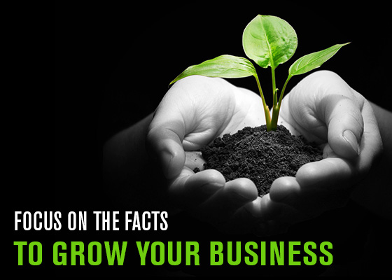 Focus on the facts to grow your image