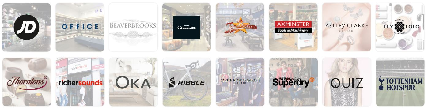Sanderson Customer Logos Ecommerce Expo 2018